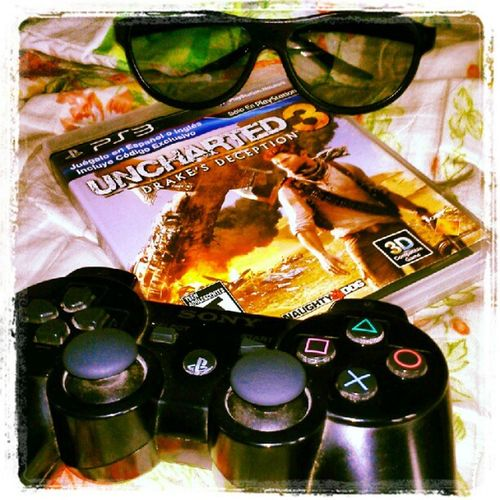 Let's play in 3D Uncharted3 Drake  'sDeception Ps3 Videogames