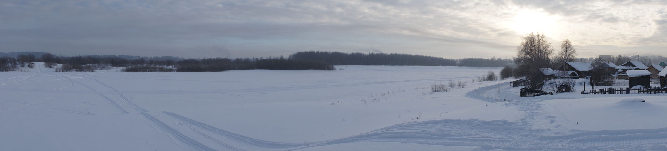 Snow ❄ Village View