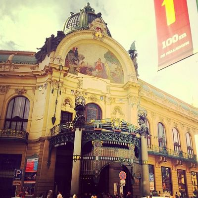Obecni_dum Prague Tagsforlikes National czech building great love_it czechrepublic