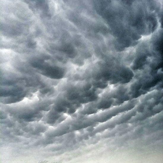 Cloudporn Mammatus Clouds Texas Skies Cloud Formations