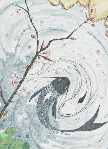 Arts Culture And Entertainment Animeartist Abstract Fishart Trees And Water Photography China Photos Anime Art Anime Drawing