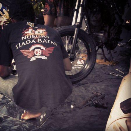 Ngegas Tiada Batas Honda Cb Mototcycle Pimp