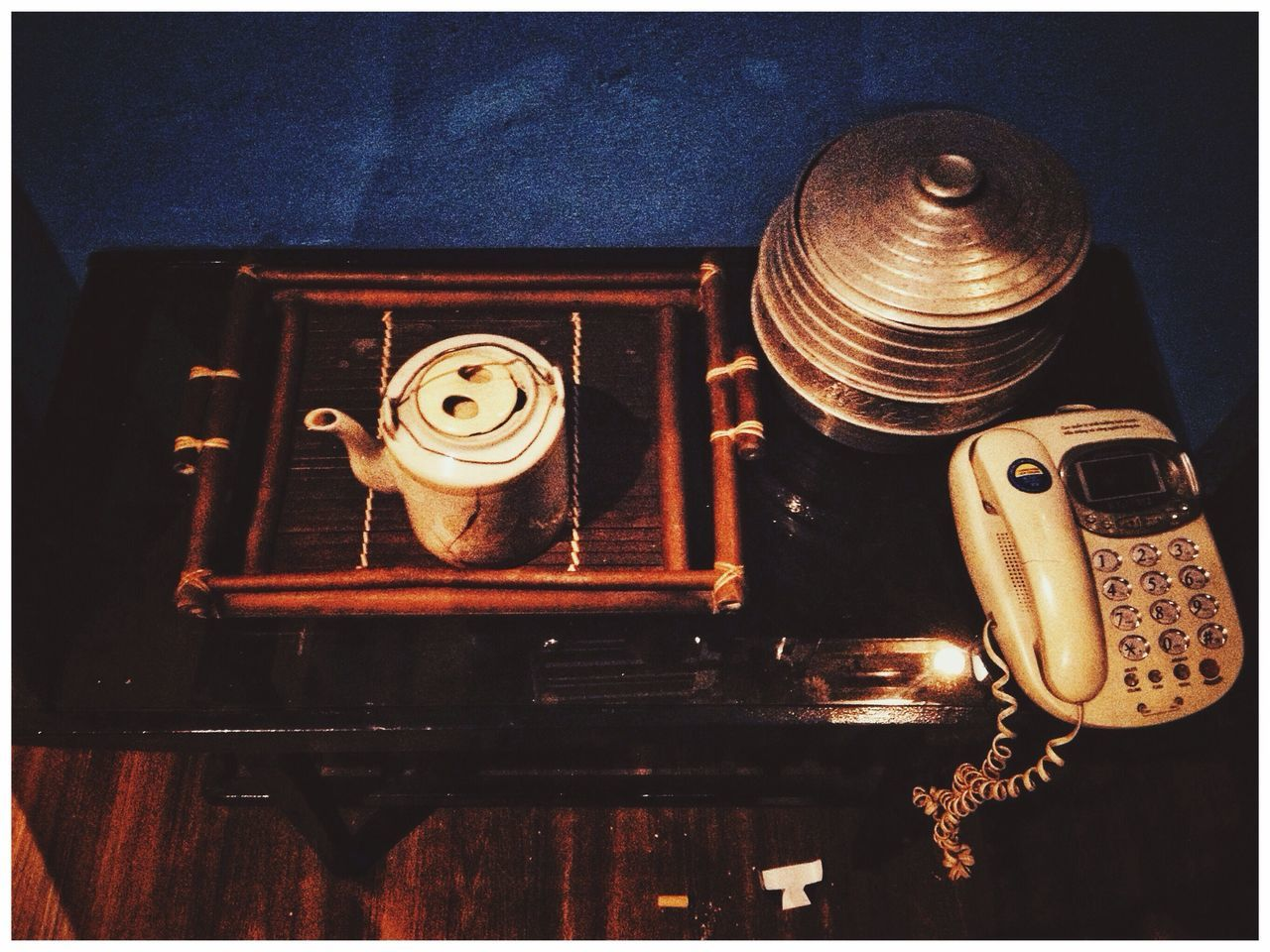 technology, retro styled, indoors, auto post production filter, transfer print, antique, old, no people, close-up, table, still life, music, the past, metal, equipment, high angle view, audio equipment, history, gramophone, electric lamp