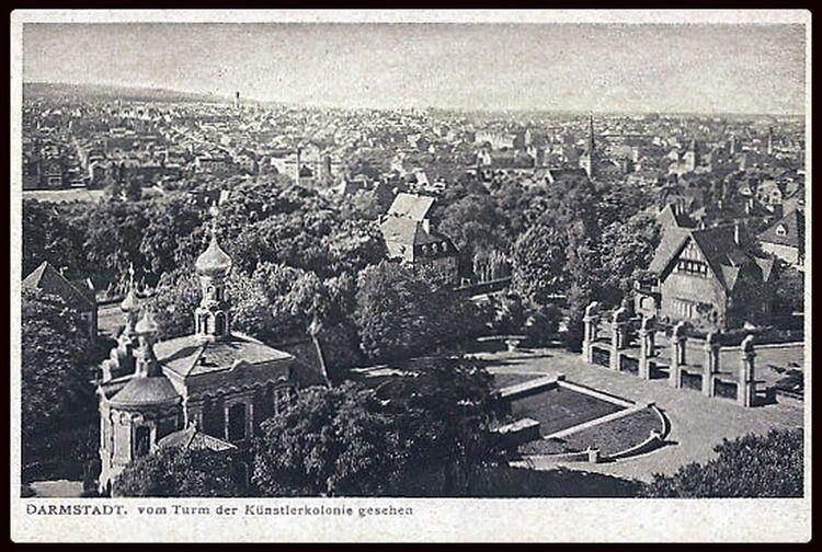 Mathildenhöhe 1902 Darmstadt