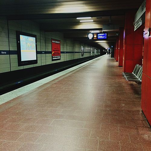 U-Bahn Munich City Subway Station Harras Hello World Check This Out Urban Bayern