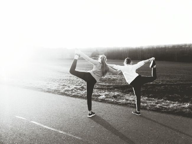 Best Friends ❤ Jogging