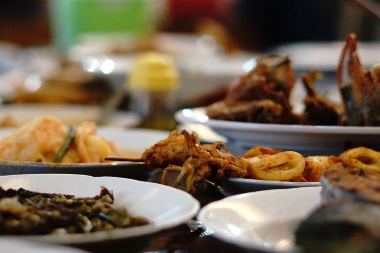 Nasi padang EyeEm Selects Food And Drink Food Ready-to-eat Plate Serving Size Table Appetizer Temptation Meal