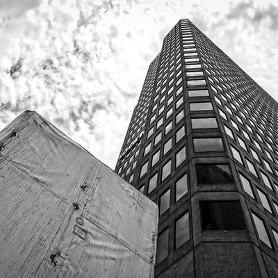 2100 Ross Dallas Latergram Blackandwhite Buildings architecture