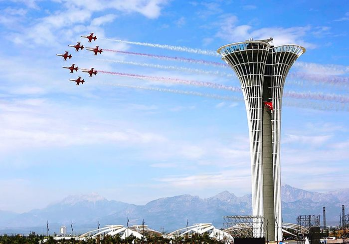 Soloturk Show Flying Airshow Aerobatics Photographer Photos Popular Photos First Eyeem Photo Turkeyphotooftheday Photography Expo Expo2016Antalya Akdeniz Antalya Turkey Istanbul Beautifulperformance Airplane Tower Expotower Türkiye Beautifull Nature Looking At Camera EyeEmPaid