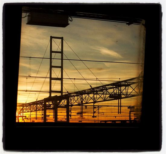 Leaving England Sunrise Train Eurotunnel Hanging Out Hello World Enjoying Life Taking Photos
