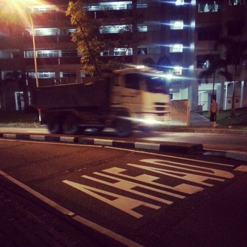 Ahead ! Igsg Sgig Fuso Streetphotography Moving Signs Singapore Truck Road Trucks Sg