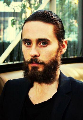 Jared Leto handsome hisbeard