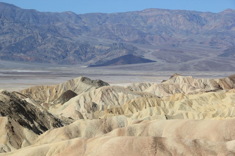The KIOMI Collection Lights And Shadows Bluesky The Great Outdoors With Adobe Roadtrip Nevada Desert Nature Photography Nevada State Parks Deserts Around The World Deathvalley Nevada Death Valley Zabriskie Point Outdoors Photograpghy  Blue Sky Wide Open Spaces Desert Beauty Rocky Sandy Sand Wonders Of Nature USA Rock The Great Outdoors - 2016 EyeEm Awards