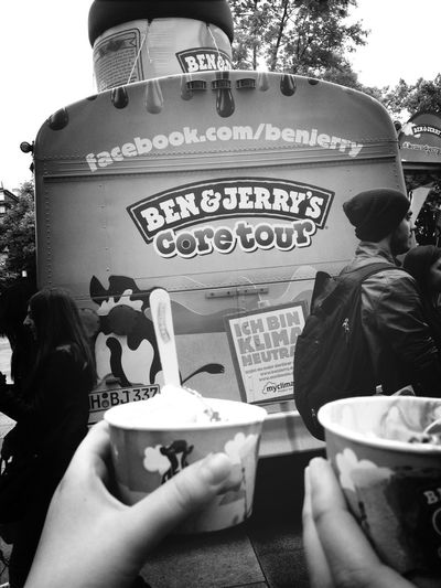 Ben & Jerry's Core Tour Summertime i think i'm in Love! (: