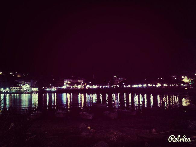 Taking Photos Night Sea Amasra