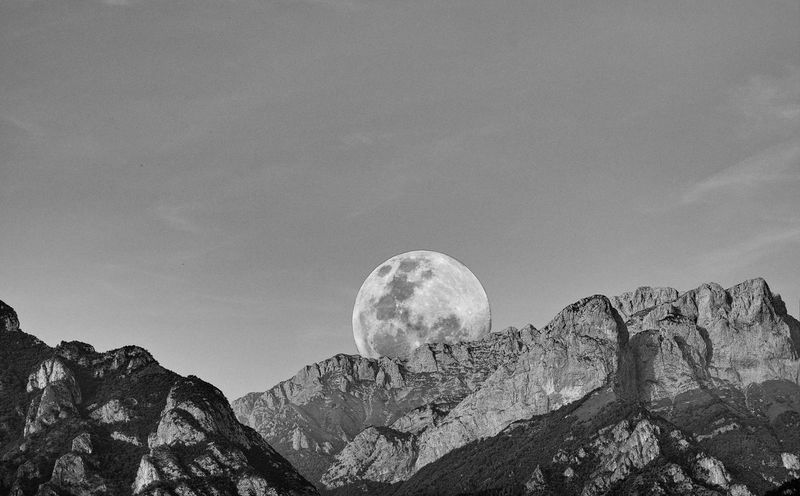 EyEmNewHere EyeEm Nature Lover EyeEmNewHere Full Moon Astronomy Beauty In Nature Idyllic Landscape Moon Moonlight Mountain Mountain Range Nature No People Outdoors Physical Geography Rock - Object Scenics Sky Tranquil Scene Tranquility