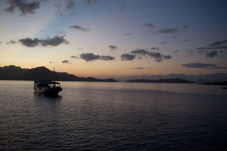 Закат на острове Комодо First Eyeem Photo