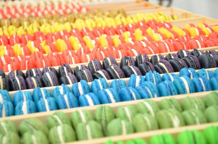 Color Explosion Macaroons Food Colour Colour Of Life Close-up Bright Colourful