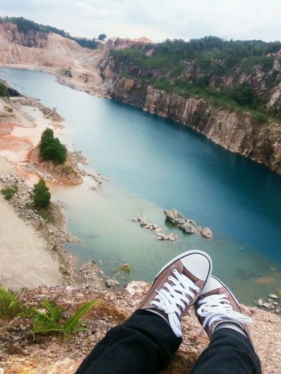 Tasik Biru..just near Mitec 😊 Enjoying Life Lakeview Hiking Pasirgudang Johordarultakzim Bluelake