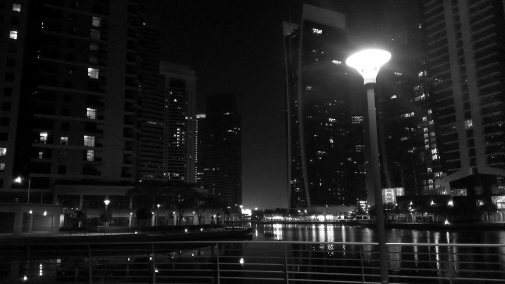 To the JLT Dubai❤ B&W Portrait