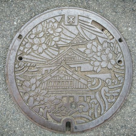 大阪にもよった♬ 大阪 大阪城 マンホール マンホール蓋 Manhole Lids Manhole Cover Manhole Covers Around The World Travel Photography From My Point Of View On The Road Hello World Enjoying Life Japan