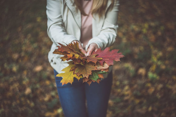 43 Golden Moments Autumn Beauty In Nature Blonde Change Close-up Colors Day Fall Fall Beauty Fall Colors Fall Leaves Flower Focus On Foreground Fragility Girl Leaf Nature Nature Photography Outdoors Plant Season  Selective Focus Unrecognizable Person