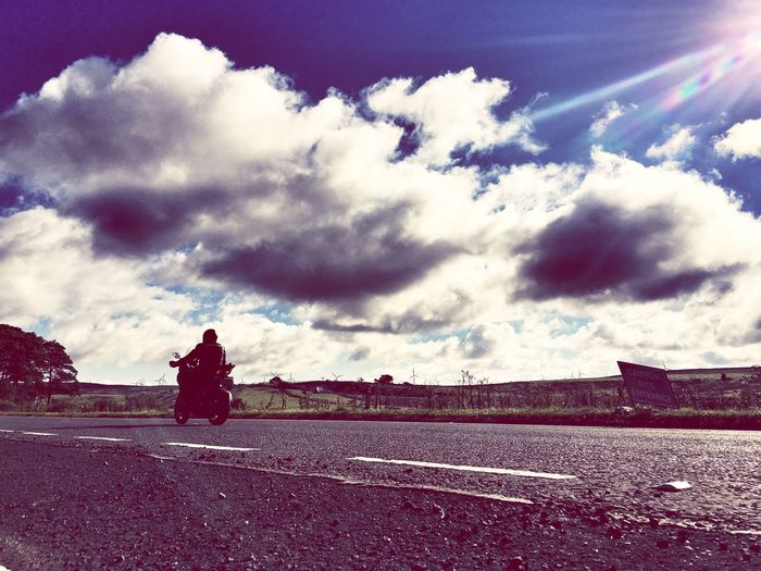 IPhoneography Iphoneonly Road Escapism Iphone6splus Enjoying The Sun Ayrshire Commuting