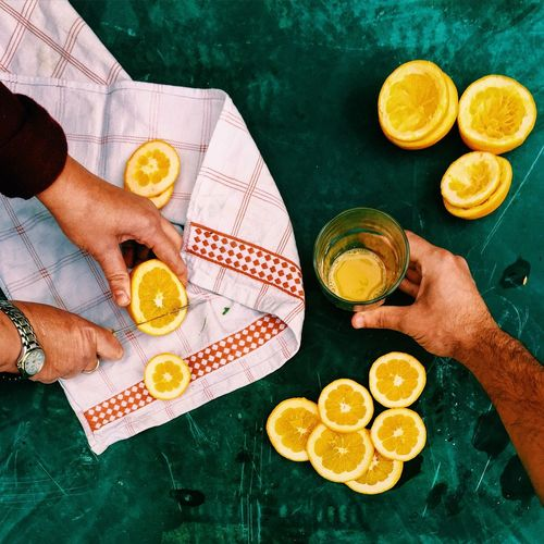 Perfect Match EyeEm Best Shots Lights Minimalism Colors Hand Creative Morning Breakfast Food Mealtime Time For Breakfast  Fruit Orange