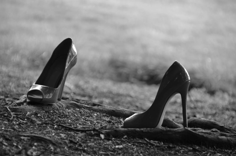 Stilettos On Field