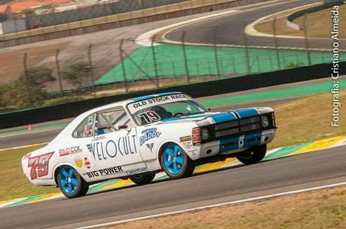 Old Stock Race Stock Car Opala Interlagos  Corrida