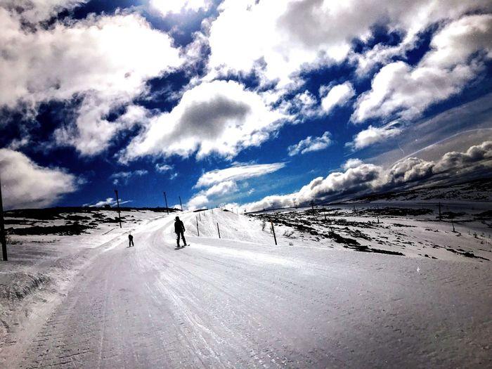 Sky Snow Winter Outdoors Landscape Vemdalen Skiing Björnrike Skidor Landskap EyeEm Selects