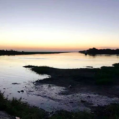 Miles Away Sunset Water Outdoors Sky Reflection Argentina Pic Pampas First Eyeem Photo Miles Away Miles Away EyeEmNewHere