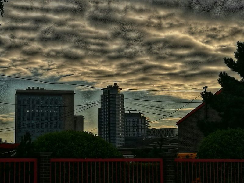 Manchester Skyline Manchester 7am  Clouds And Sky Check This Out Relaxing Taking Photos Hanging Out Hi!