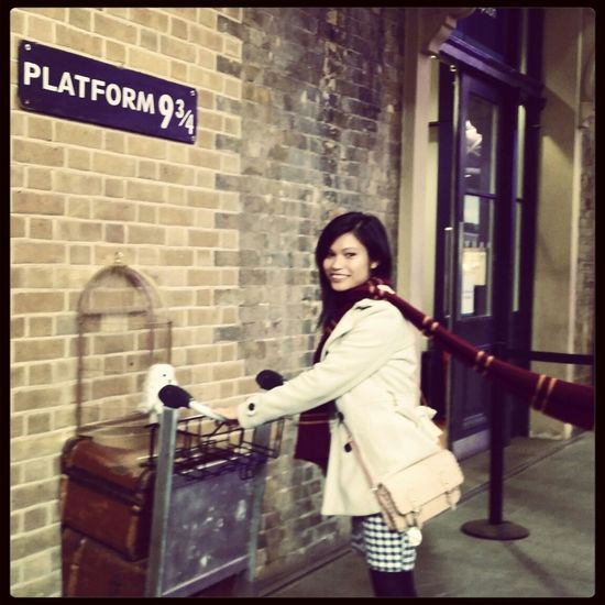 My vacation in London ? Harrypotter Magic