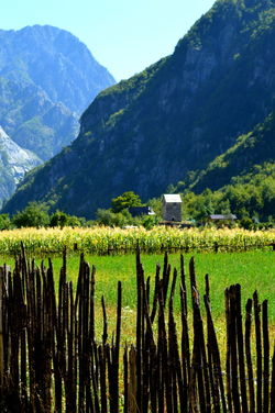 Albania Theth Agriculture Architecture Beauty In Nature Building Exterior Day Field Growth Landscape Mountain Mountain Range Nature No People Outdoors Rural Scene Scenics Sky Tranquil Scene Tranquility