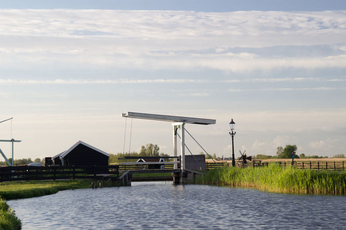 Built Structure Day Environment Fuel And Power Generation Horizontal Industry Nature No People Outdoors Petrochemical Plant Sky Water Zaanse Schans