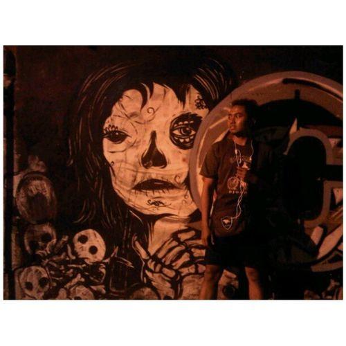 Lukisan dinding, entah apa namanya, Gagah Gravity Jogja Yogyakarta