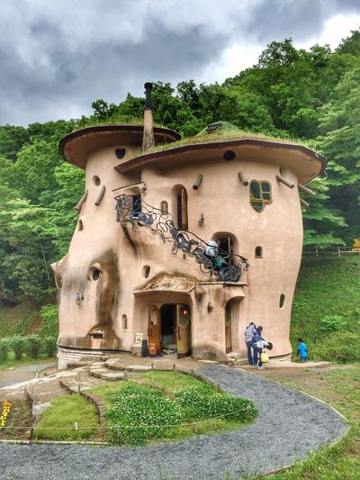 The Great Outdoors - 2017 EyeEm Awards Moomins' House. Architecture Check This Out Moomin Tadaa Community Japan Architecture Traveling Park Uniqueness Outdoors Tranquil Scene Travel Garden HDR Hdr_Collection