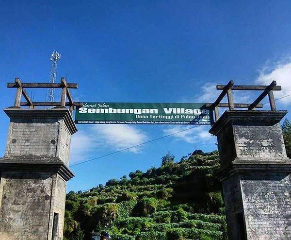"""Selamat jalan """" sembungan village"""" desa tertinggi di pulau jawa... Aku akan kembali. Dieng Wonosobo Explorewonosobo Wonosobozone"""