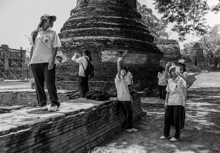 Selfei Project: 2015 Ayutthaya SelfeiProjectBySZ Streetphotography Streetphoto_bw Street Photography Streetphotography_bw Ayutthaya | Thailand Thailand Traveling Selfportrait TheWeekOnEyeEM Eye4photography  The Street Photographer - 2015 EyeEm Awards EyeEm Best Shots Eye4black&white  EyeEm The Tourist Spotted In Thailand