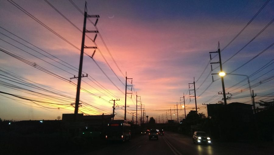 Sunset Along The Way