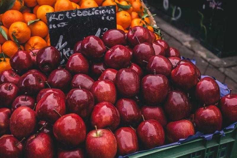 Apples For Sale At Market