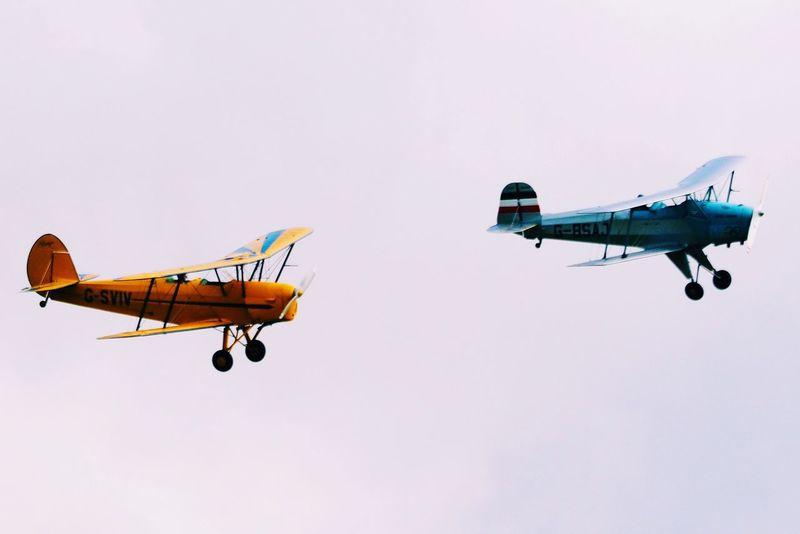 Wingmen EyeEmBestEdits EyeEm Best Shots PROPELLERplane Aircraft Eyeemphotography EyeEmBestPics Eyemphotography Olympus OM-D EM-1 Militaryaviation Biplane