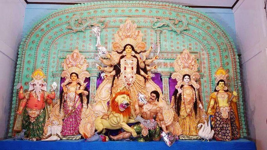 karimganj modan Mohan Durga Murthy Bengalifestival Art And Craft Day Multi Colored