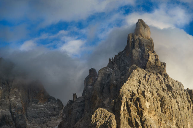 Cimon Clouds Day Dolomites Dolomiti Italia Landscape Mountain Nature Outdoors Pale Di San Martino Peak San Martino Di Castrozza Travel Destinations Trentino Alto Adige Cimon Delle Pale