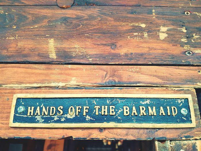 Text Bar Sign True Words Word Barmaid