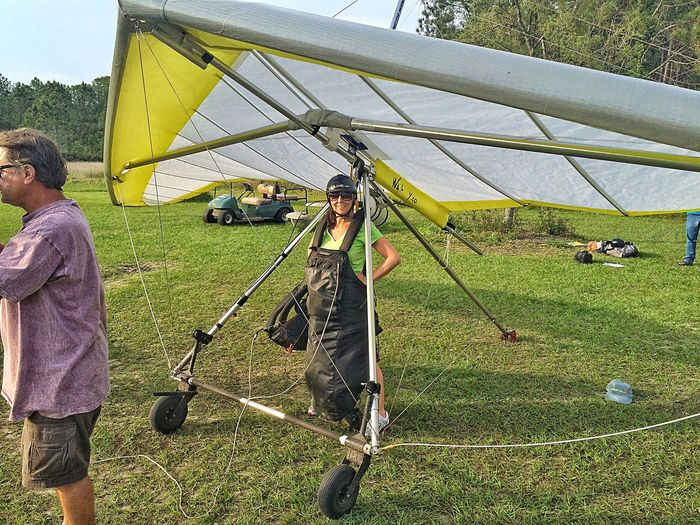 Showcase April my mom's about to gp up! Mom Mother Mum Flying Gliding Handgliding Hand Gliding Florida Outdoors Outside Spring Springtime April Holiday Vacation Vacations Florida Life