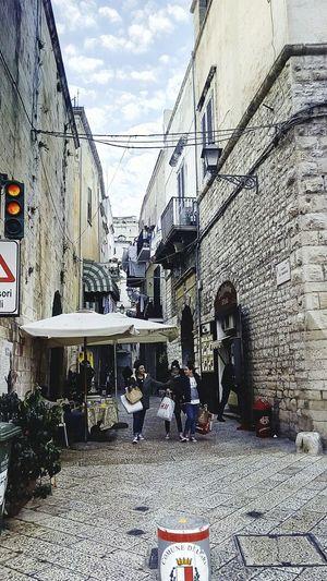 Walking In Bari Vecchia Life City Hello World