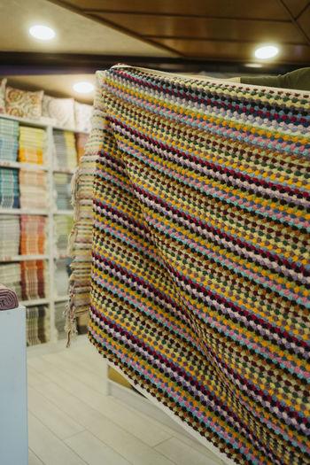 Multi colored pencils in store