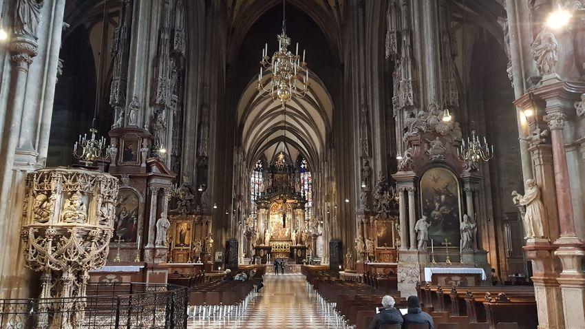 Stephansdom Vienna Religious Architecture Religion BIG Holi Religion Place Of Worship Tourism History Travel Destinations Architecture Architectural Column